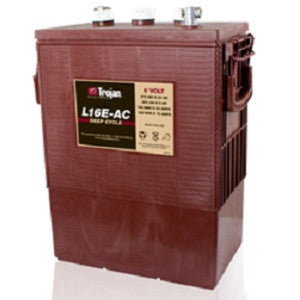 Trojan L16E-AC 6V 370AH Deep Cycle Flooded/Wed Lead Acid Battery - GetMyBattery.com