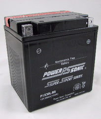 PowerSonic PIX30L-BS Powersport Battery Replacement for YIX30L, POWERSPORTS - GetMyBattery.com
