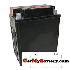 PowerSonic PTX14AH-BS Powersport Battery Replacement for YTX14AH-BS