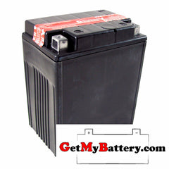 PowerSonic PTX14AHL-BS Sealed Maintenance Free Replacement Battery for YTX14AHL-BS