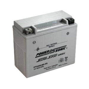PowerSonic PTX12BS-FS Factory Activated Maintenance Free (AGM) Replacement Battery