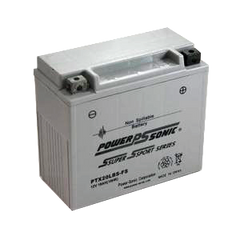 PowerSonic PTX12BS-FS Factory Activated Maintenance Free (AGM) Battery, POWERSPORTS - GetMyBattery.com