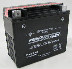 PowerSonic PTX20L-BS Powersport Battery Replacement for YTX20L-BS, POWERSPORTS - GetMyBattery.com