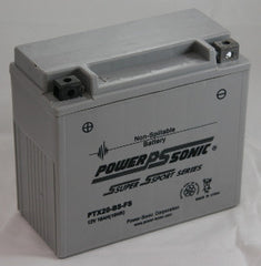 PowerSonic PTX20BS-FS Powersport Battery Replacement for YTX20-BS, Motorcycle - GetMyBattery.com