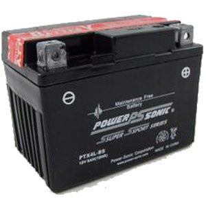 Powersonic PTX4L-BS Sealed Maintenance Free Battery Replacement for YT4L-BS