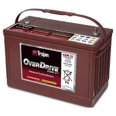 Trojan OverDrive 31-AGM 12v 102ah Advanced Cycling AGM Battery