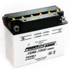 C50-N18A-A , POWERSPORTS - Powersonic, Battery Wholesale Inc