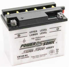 CB12B-B2 , Motorcycle - Powersonic, Battery Wholesale Inc
