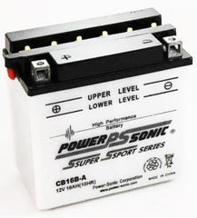 CB16B-A , Motorcycle - Powersonic, Battery Wholesale Inc