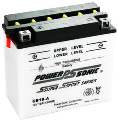 PowerSonic CB18-A Powersport Battery Replacement for YB18-A, POWERSPORTS - GetMyBattery.com