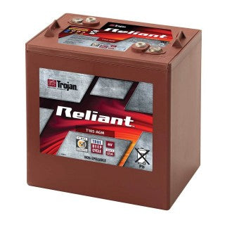 Trojan T105-AGM 6V 217AH Sealed AGM Battery - GetMyBattery.com