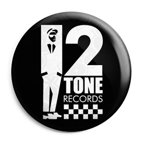 2 Tone Records - The Specials Rude Boy Ska - Button Badge