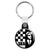 2-Tone - SKA Rude Boy Music Key Ring