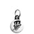 Ace of Spades - Smoking Top Hat Skull - Biker Mini Key Ring