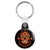 Ace of Spades - Mexican Sugar Skull - Key Ring