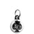 Ace of Spades - Top Hat Skull - Biker Mini Key Ring