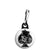 Ace of Spades - Top Hat Skull - Biker Zipper Puller