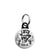 Ace of Spades - Trust Me Top Hat Skull - Biker Mini Keyring