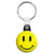 Acid House Rave Techno 80's Smiley Face - Key Ring