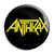 Anthrax Band Logo - Death Thrash Metal Button Badge