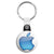 Apple - Mac Computer Aqua Logo - Key Ring