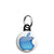Apple - Mac Computer Aqua Logo - Mini Keyring