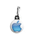 Apple - Mac Computer Aqua Logo - Zipper Puller