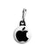 Apple Mac- Steve Jobs RIP Logo - Zipper Puller
