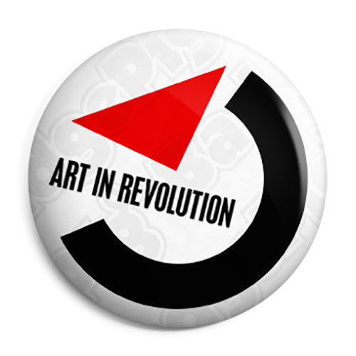 Back to the Future - Art in Revolution Marty Mcfly Button Badge