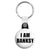 I am Banksy - Graffiti Tag Logo Street Art Key Ring