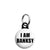 I am Banksy - Graffiti Tag Logo Street Art Mini Keyring