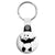 Banksy Gun Panda - Graffiti Key Ring