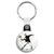 Banksy Riot Flower Thrower - Graffiti Key Ring