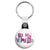Be My Valentine - Jumble Text Key Ring
