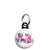 Be My Valentine - Jumble Text Mini Keyring