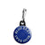 Blue Beat Records Logo - Ska Skinhead Reggae Zipper Puller