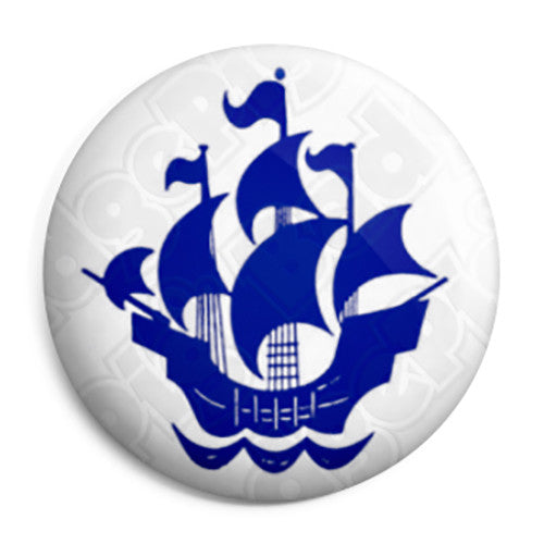Blue Peter - Kids Retro TV BBC Program - Button Badge