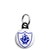 Blue Peter Shield - Kids Retro TV BBC Program - Mini Keyring