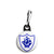 Blue Peter Shield - Kids Retro TV BBC Program - Zipper Puller