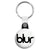 Blur Band Logo - 90's Indie Britpop Key Ring