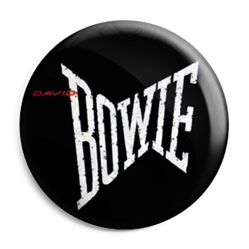 David Bowie - Lets Dance 80's Pop Logo Pin Button Badge