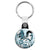 Breaking Bad - Walt and Jesse Blue Drawing - Key Ring