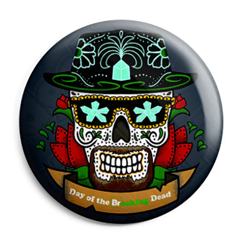 Breaking Bad - Heisenberg Mexican Skull - Button Badge