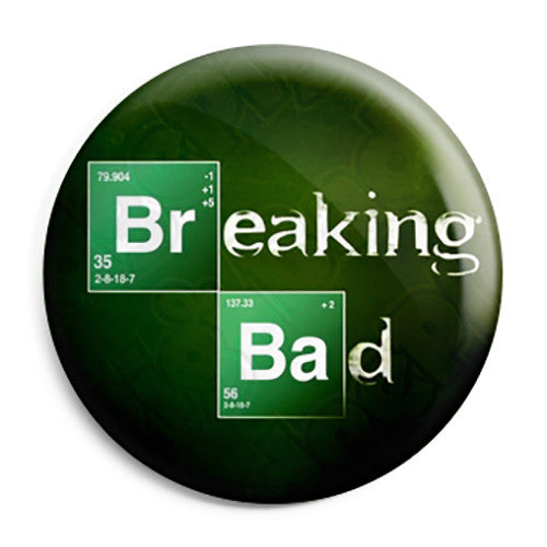 Breaking Bad - TV Show Logo - Button Badge