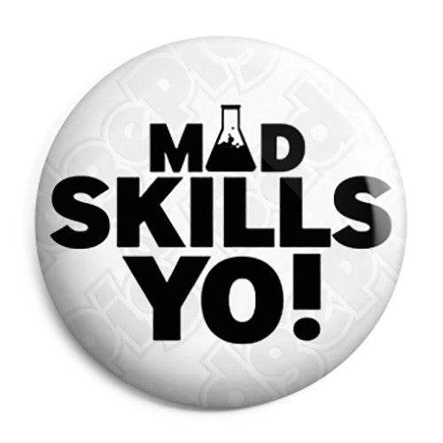 Breaking Bad - Jesse Pinkman Mad Skillz Yo! - Button Badge