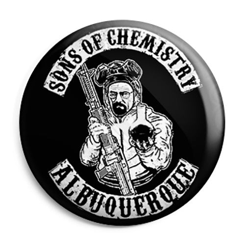 Sons of Chemistry - Albuquerque - Button Badge