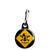 Breaking Bad TV Show - Walt Danger Toxic - Zipper Puller