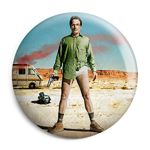 Breaking Bad RV - Walt's Underpants - Button Badge