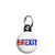 Brexit Leave Referendum - EU European Union Mini Keyring