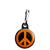 CND Logo - Love and Peace Hippy Symbol Zipper Puller